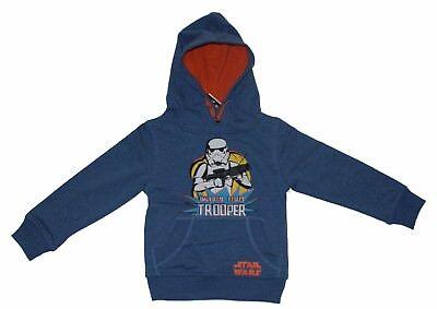 Star Wars Sweatjacke mit Kapuze Pullover Strickjacke Child Boy Sweater neu