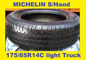 MICHELIN (Second Hand) 175/65R14C @ $70 ea Fitted & alanced Bankstown Bankstown Area Preview
