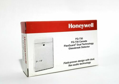 HONEYWELL /ADEMCO FG-730 FLEXGUARD DUAL TECHNOLOGY GLASSBREAK DETECTOR