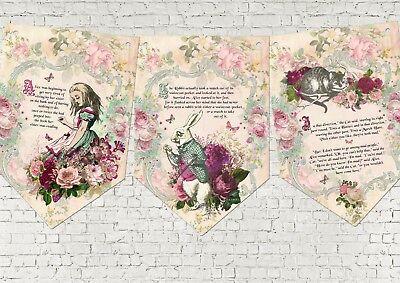 Story Book Party Bunting/Banner & Ribbon  (Ribbon Banner)