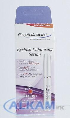 RapidLash Eyelash Enhancing Serum 0.1 Oz/3 mL, NIB, with isopropyl cloprostenate