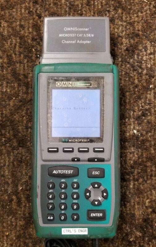 Fluke Microtest OMNI Scanner 2 Industrial Digital Portable Omniscanner Unit