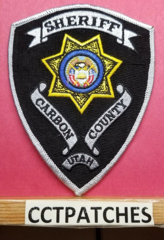 CARBON COUNTY, UTAH SHERIFF (POLICE) SHOULDER PATCH UT