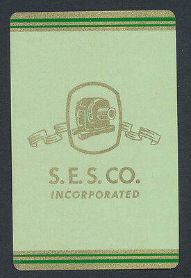 S.E.S. Co Southern Electric Service playing card single swap JOKER - 1 card