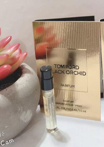 Tom Ford BLACK ORCHID Eau D Parfum EDP Sample Spray Vial .05oz 1.5 Ml - $7.40