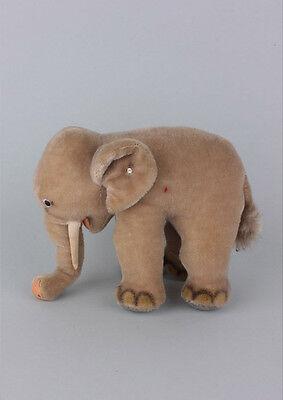 Steiff Elefant , 1950/1960er Jahre  Länge 25 cm