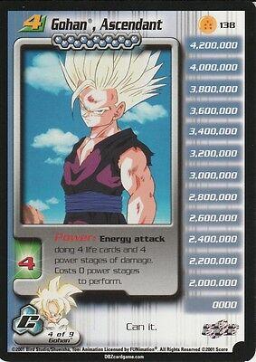 Dragon Ball Z Gohan Ascendant / TRADING CARD GAME / CELL SAGA / LIMITED EDITION