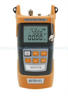 All-in-one Fiber Optic Power Meter -70 3dbm And 10mw 10km Visual Fault Locator