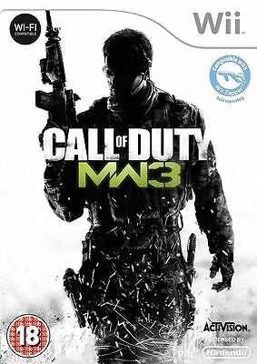 Call Of Duty Modern Warfare 3 Nintendo Juego Wii