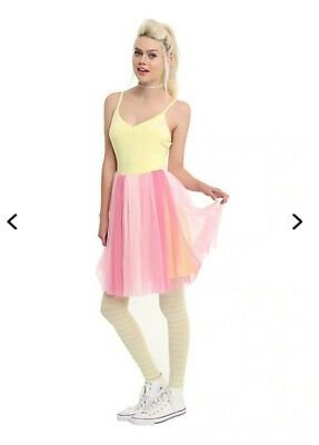 fluttershy costume size small hot topic dress cosplay my little pony - Hot Topic Costumes