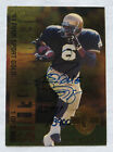 Autographed Classic Jerome Bettis Football Trading Cards