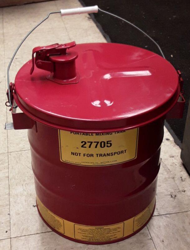 Justrite 27705 Portable Mixing Tank