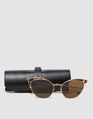 $530 Ahlem France Gold Dipped Palladium Place Violet Sunglasses (Sunglasses Station)