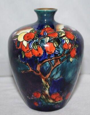 "Hancock's Coronaware - Cherry Ripe - Molly Hancock - 5"" Ovoid Vase - c1920 - vgc"