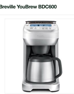 Breville YouBrew Self Grinding Drip Coffee Machine