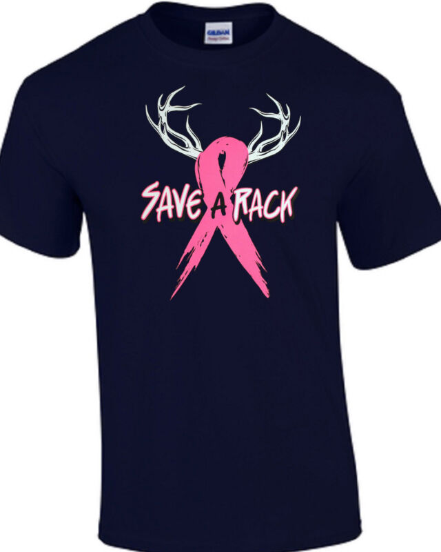 Save A Rack Breast Cancer TEE SHIRT  Small - 5XL