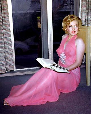 Marilyn Monroe Aka Norma Jean Daring Nightgown High Gloss 8 5X11 Photo