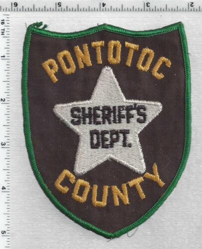 Pantotoc County Sheriff (Mississippi) 1st Issue houlder Patch