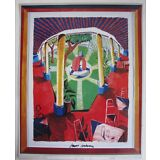 DAVID HOCKNEY - SIGNED - 1986 TATE GALLERY POSTER