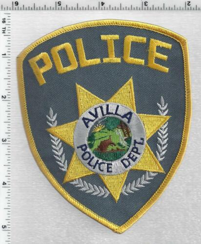 Avilla Police (Indiana) 2nd Issue Shoulder Patch