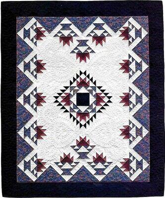 AMISH BASKET MEDALLION  --_-- Patchwork & Block Vintage Quilt Pattern