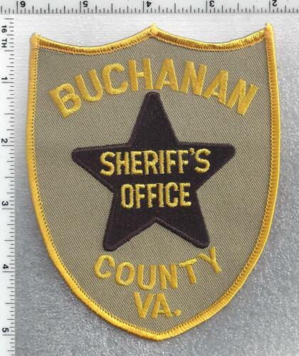 Buchanan County Sheriff (Virginia) 3rd Issue Shoulder Patch