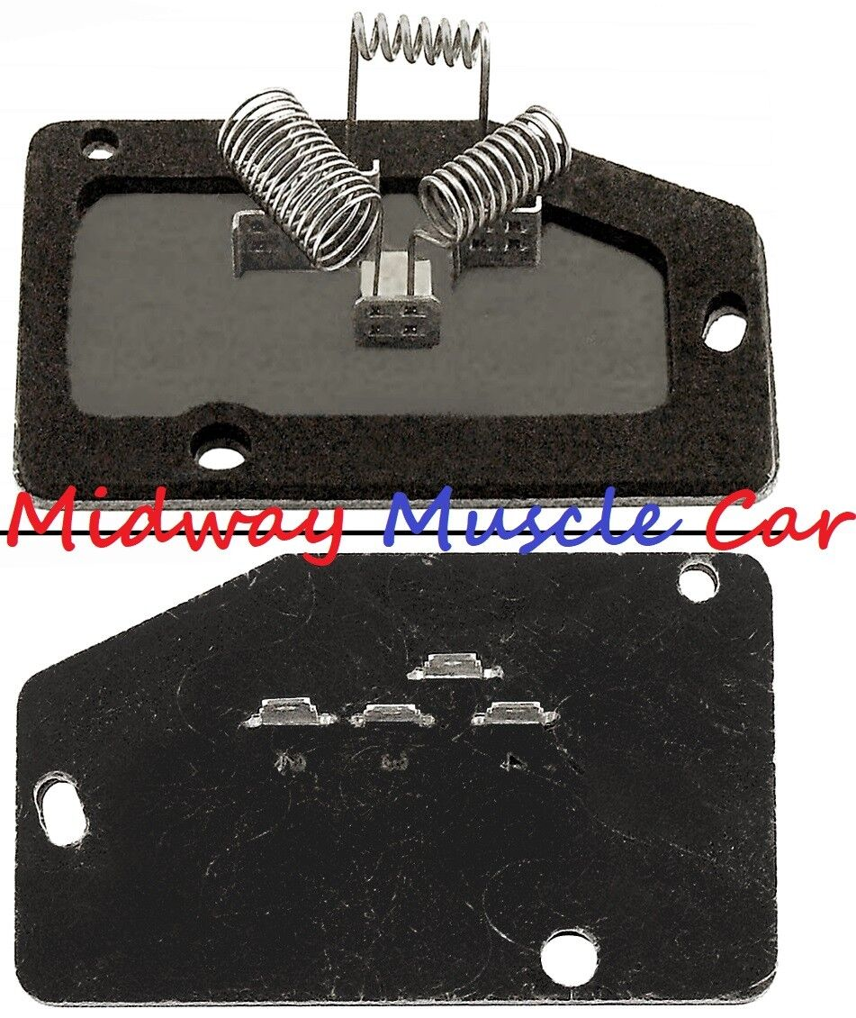 85-96 Blower Resistor without climate control 14093106 Chevy Corvette