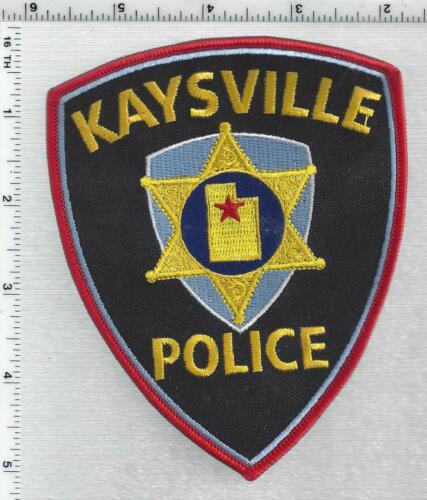 Kaysville Police (Utah) 4th Issue Shoulder Patch