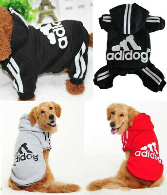 Kleine und Groß Haustier Hund Kleidung Mantel Pullover Jacke Hemd Hoodie Overall (Große Hund Kleidung)