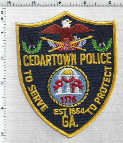 Cedartown Police (Georgia) 3rd Issue Shoulder Patch