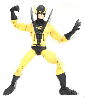 "Marvel Legends 6"" YELLOW JACKET Action Figure Blob BAF Wave Yellowjacket Hasbro"