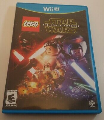 Wii U LEGO STAR WARS THE FORCE AWAKENS GAME ACTION ADVENTURE FAMILY  RATED E10+