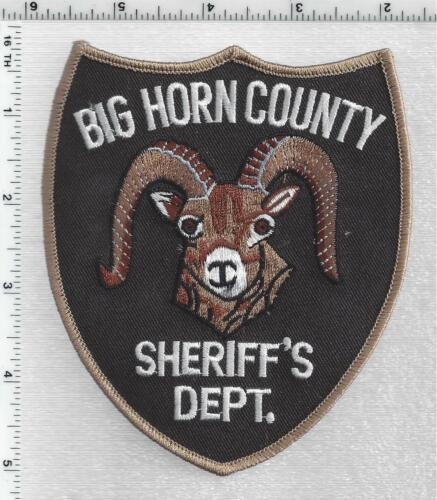 Big Horn County Sheriff (Montana) 3rd Issue Shoulder Patch