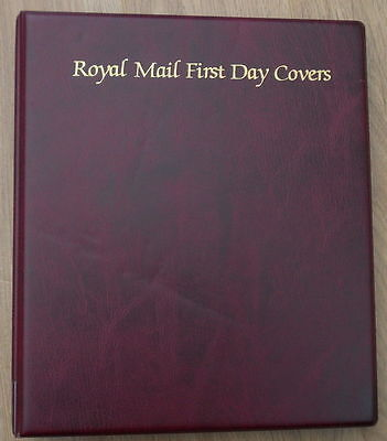 Royal Mail First Day Cover Album. Space for 48 covers. Excellent. FREEPOST!