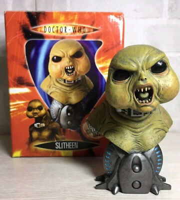 Dr Doctor Who Limited Edition Collector's Bust - Slitheen - Boxed - Dr.Who