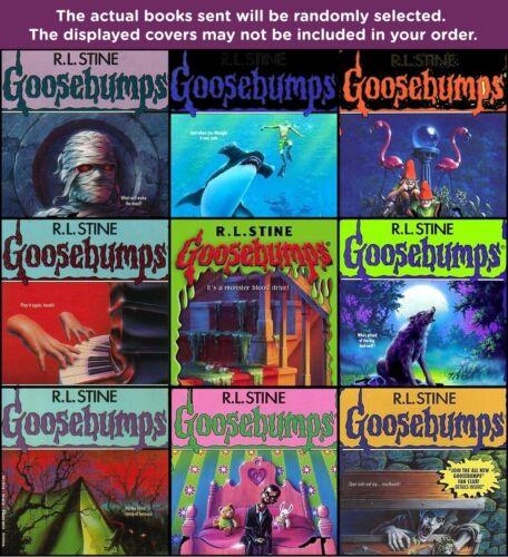 FIVE-PACK BUNDLE / LOT OF GOOSEBUMPS BOOKS ~ R.L. STINE