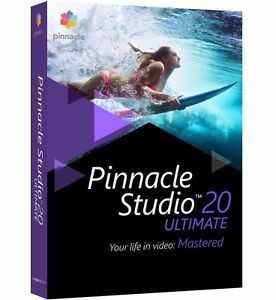 Pinnacle Studio 20 Ultimate Video Editing Software For Windows New