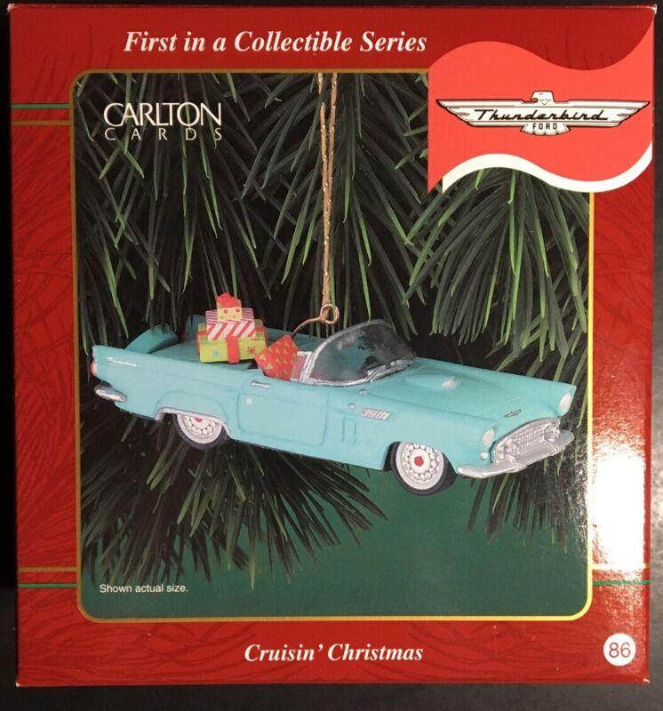 "Carlton Cards 1956 T-Bird Ornament ""Cruisin"