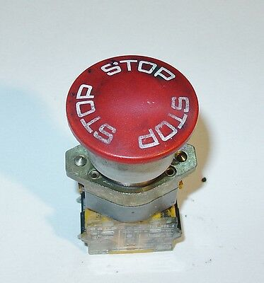 A. B. Dick Printing Press Parts 9870 9865 9869 Emergency Stop Switch 253475