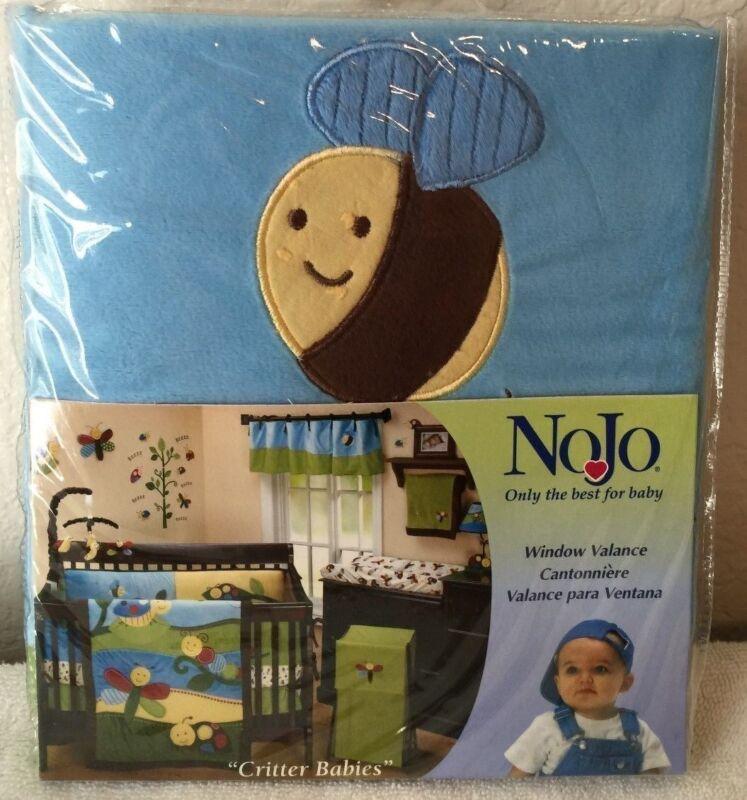 NoJo Critter Babies Window Valance