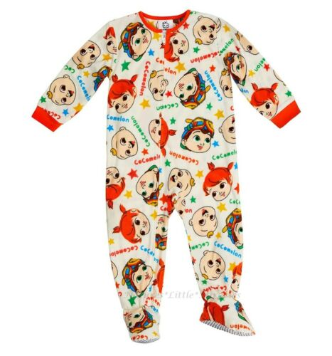 Cocomelon Pajamas Size 2T 3T 4T Boys Girls Toddler Blanket Sleeper One Piece NWT