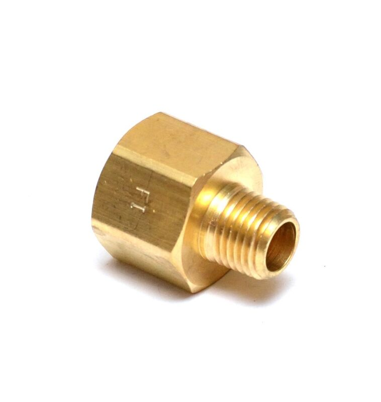 """Reducer 1/2"""" Female to 1/4"""" Male NPT Pipe Adapter Male Female Thread"""