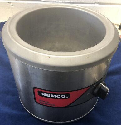 Nemco 6100a 7 Qt. Round Soup Warmer 550 Watt. Free Shipping