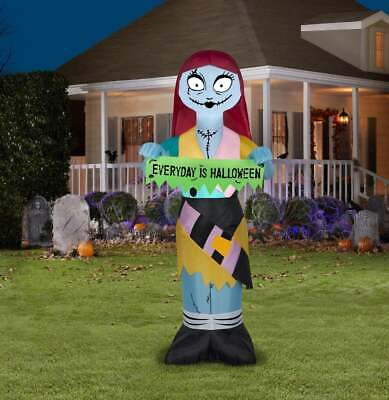 Nightmare Before Christmas 5ft SALLY Airblown LED Inflatable Disney Ready-2-Ship