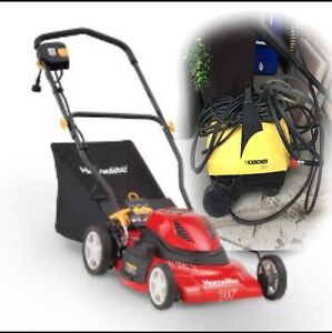 PACKAGE DEAL!!!!!!! Washer & Mower