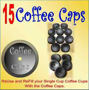 Coffee-Caps-Reuse-And-Refill-The-Keurig-K-Cup-packs-Coffee-Cup-Lid-Top-Qty-15