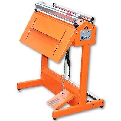 600MM/60CM INDUSTRIAL PROFESSIONAL FOOT PEDAL HEAT SEALER MACHINE WITH CUTTER