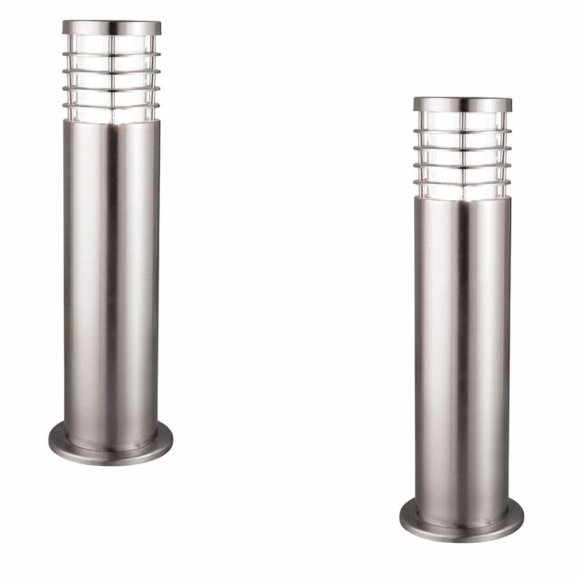 PAIR Searchlight 1556-450 Stainless Steel Outdoor 45cm Bollard Light 11W