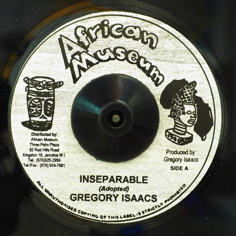 """NEW 7"""" Gregory Isaacs - Inseparable  /  Version"""