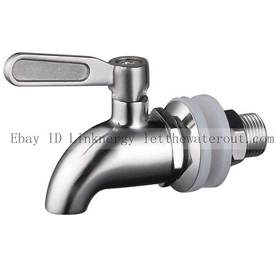 Stainless Steel Works SSS010 Beverage Dispenser Wine Barrel Spigot/Faucet/Tap